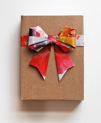 クリスマス 折り紙:折り紙 リボン-recruit-box.net