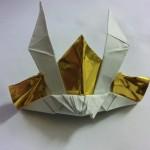 折り紙のかぶとのかっこいい折り方!これ作ったらパパは英雄だね!