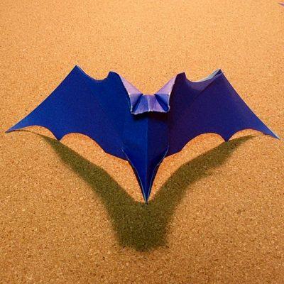 ハート 折り紙 折り紙コウモリの作り方 : recruit-box.net