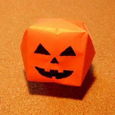 クリスマス 折り紙 折り紙 ハロウィン かぼちゃ : recruit-box.net