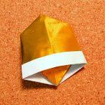 ベルの折り紙の折り方♪クリスマスツリーやリースの飾りの作り方