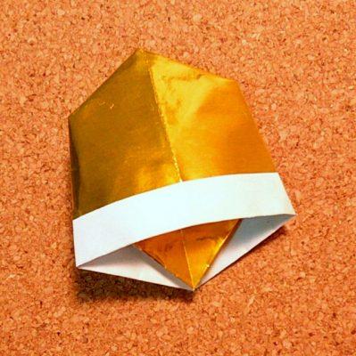 クリスマス 折り紙 折り紙 ベル : recruit-box.net