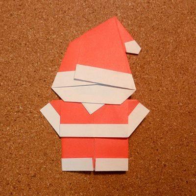 サンタクロースの折り紙の折り方!簡単でかわいい作り方はコレ