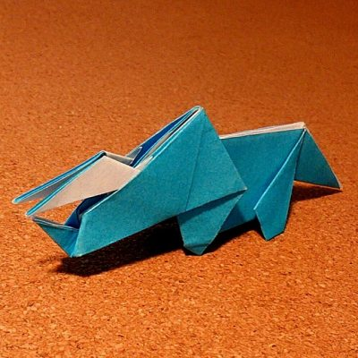 ハート 折り紙 折り紙 恐竜 トリケラトプス 折り方 : recruit-box.net
