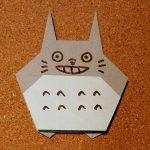 トトロの折り紙の折り方!簡単に折れる作り方をご紹介♪