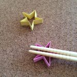 星形の箸置きの折り紙の折り方!かわいい飾り付けにも使えそう♪