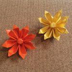 折り紙のガーベラの立体の折り方!難しいけど綺麗な花
