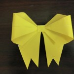 折り紙のかわいいリボンの折り方とアレンジ方法!サプライズを狙え!