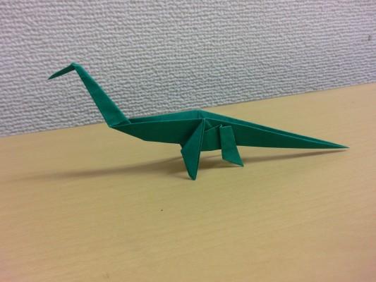 クリスマス 折り紙 恐竜 折り紙 簡単 : recruit-box.net