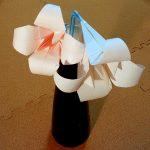 折り紙のゆりの立体の折り方!簡単な作り方をご紹介♪