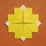 折り紙の四つ葉のクローバーの折り方!1枚で簡単な作り方はコレ!