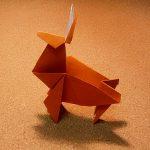 トナカイの折り紙の折り方!簡単な立体の作り方をわかりやすく!