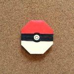 ポケモンのモンスターボールの折り紙の折り方を動画と写真で解説!