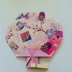 折り紙でうちわの折り方♪簡単な作り方で夏の風物詩を!